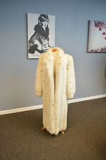 Stenciled Shadow Fox Coat, Always Stored!!!!. Pristine!!! Ironed/Glazed!