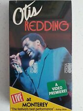 "Otis Redding ""Live At Monterey Pop Festival"" Vhs Tape"