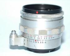Carl Zeiss Jena 50mm f2.8 Tessar lens for Exakta camera 12-blade apert. - Exc.!