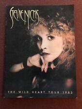 Stevie Nicks - Wild Heart - 1983 Tour program - Usa near mint condition