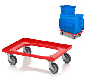 Pack of 5 - Transport Dolly/Trolley - For Moving Glassware Storage Boxes - NV