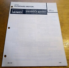 SEA KING OBM CHOOSE ONE 50-55-80HP PART LIST 1965 TO 1977