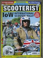 Classic Scooterist October November 2017 Lambretta Li S4 Vespa GS160 IoW Rally