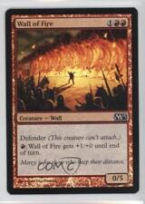 2012 Magic: The Gathering - Core Set: 2013 #156 Wall of Fire Magic Card 2k3