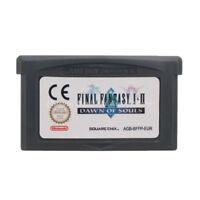 Final Fantasy I & II Dawn of Souls GBA Game Boy Advance Cartridge