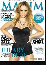 Maxim Germany - 2009/05 - Hilary Duff - Ivanka Trump - Odette Yustman - Cover