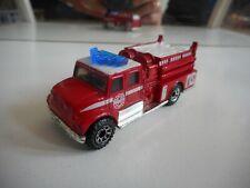 Matchbox International Pumper Fire Engine in Red/White