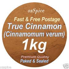 True Cinnamon Powder 1kg - Ceylon  Cinnamomum Zeylanicum - ozSpice