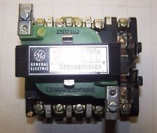 GE GENERAL ELECTRIC CR205S000AEA SIZE 1 CONTACTOR 30 AMP 600V 10 HP 115V COIL