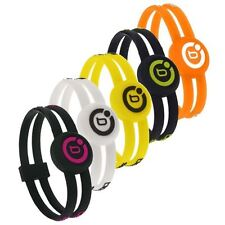 BIOFLOW SPORT TWIN MAGNETIC WRISTBAND SILICONE BRACELET 80%OFF RRP