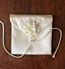 Vintage Satin Lingerie Bag