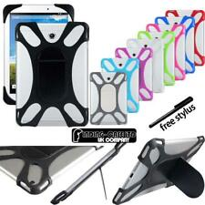 """For Various 10.1"""" Acer Iconia Tab Tablet - Shockproof Silicone Stand Cover Case"""