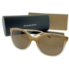 cdd306294 Burberry BE4237-335473-57 Women's Brown Frame Brown Lens Genuine Sunglasses  NWT