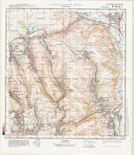 Russian Soviet Military Topographic Maps - PONTYPOOL (UK, Torfaen), ed. 1981