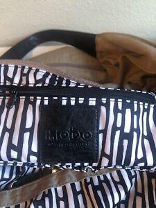 Hobo The Original Oversized Beige Nylon Shoulder Tote Bag