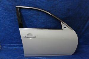 2007-2013 INFINITI G35 G25 G37 FRONT RIGHT PASSENGER DOOR COMPLETE WHITE OEM
