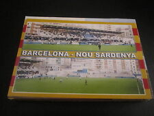 31003 cartolina stadio stadium scheda Barcellona nou Sardenya