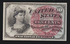 US 10c Fractional Currency 4th Issue FR 1259 Ch CU (001)