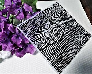 Woodgrain Pattern Plastic Embossing Folder for Paper Craft/Card Making/Scrapbook