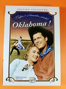 OKLAHOMA Edition Collector 2 DVD Carnet de chant Comédie musicale vost - Yooplay