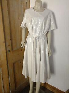 PVC-U-Like PVC Flared Dress Retro Robe Gown Roleplay Plastic 4XL Overall Vinyl