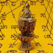 Phra Phrom Thai Amulet Buddha Yant Talisman Luck Rich Protect Pendant Success#13