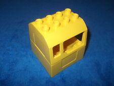LEGO DUPLO VILLE EISBENBAHN BAUSTELLE FÜHRERHAUS für KRAN DREHKRAN 4988 5653 Rar