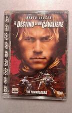 Dvd Heath Ledger IL DESTINO DI UN CAVALIERE  (Jewel box)