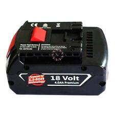 18V Volt 4000mAh Li-ion Battery Rechargeable for Bosch BAT610G BAT609 Drill