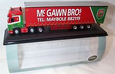 Mercedes Actros MP4 GSC Curtainside MCGawn Bros 1:76 Scale new in box 76MB007