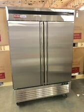 2 Door FREEZER Commercial FROZEN Stainless Double  Reach In  New Up Right