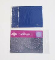 Pergamano Embossing Pad A5 & Multi-Grid Floral Paisley