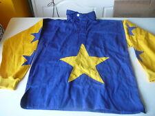 Tantivvy of Devon polo bleu et jaune avec etoiles M