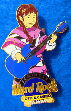 TAMPA HOTEL & CASINO NATIVE INDIAN CHILDREN'S MUSICIAN GIRL 2 Hard Rock Cafe PIN