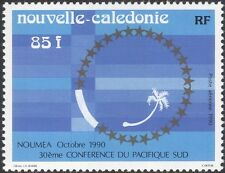 New Caledonia 1990 South Pacific Conference/Palm Tree Emblem/Nature 1v (n45799)
