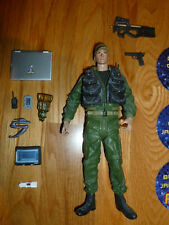 Stargate SG1 ATLANTIS Colonel Jack O'Neil Series 1 SG-1 Diamond Select EXTRAS
