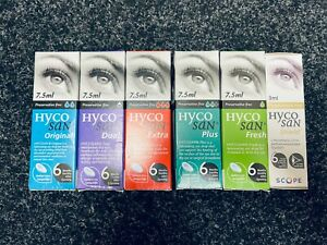 Hycosan Eye Drops (All Variations)