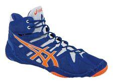 Asics Omni Flex-Attack True Blue/Shocking Orange/White size 11 1/2