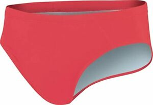 Nike Boys Youth Big Swoosh Swim Brief Bright Crimson NESS6049 - Size 24 NEW WT