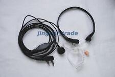 Wholesale 10 x Throat Vibration Mic Acoustic Tube Earpiece for Kenwood Baofeng