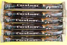 Lot of 6-12 Hour Orange Cyalume Tactical Lightsticks Doomsday Prepper Blackouts