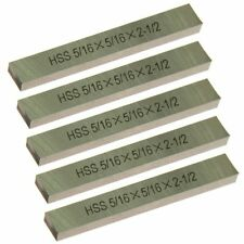 "5 pc HSS Square Tool Bit High Speed Steel M2 5/16"" x 2-1/2"" for Lathe Fly Cutter"