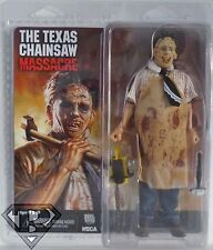 "LEATHERFACE The Texas Chainsaw Massacre Retro Style 8"" Clothed Figure Neca 2014"