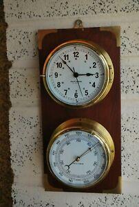 Kevin Hughes Ships Clock and Barometer