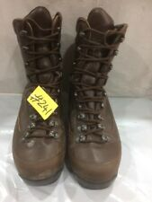 Used ALT-BERG Defender Army Issue Brown Leather Combat Boots 9M Male #241