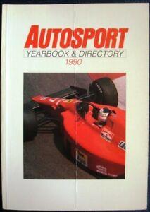 AUTOSPORT YEARBOOK & DIRECTORY 1990 Peter Fourbister Car Book