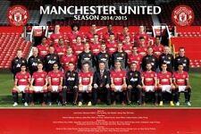 SOCCER POSTER Manchester United Team 2014-2015