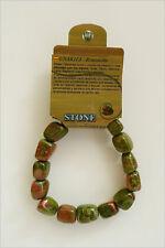 Unakita pulseras de minerales, Unakite  bracelets  R