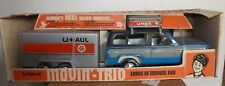 Nylint Vintage Rare U-Haul Moving Trio 4158 Pressed Steel Moving Van Truck.New
