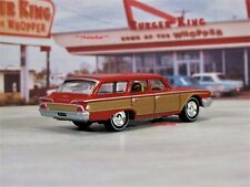 1960 60 Ford Country Squire Family Station Wagon Collectible 1/64 Scale Model